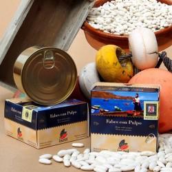 FABES CON PULPO (420 g.)